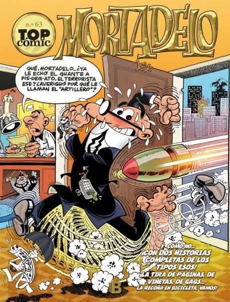 top comic mortadelo 63 y como no